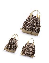 Brown Dot Fashion multifunctional shoulder / backpack