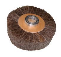 "Supreme 8"" x 2"" Brown Horse Hair Brush Polish Wheel"