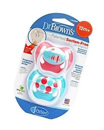Dr Browns Natural Flow Pacifiers PreVent Unique Stage 3, +12