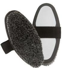 Centaur Large Body Brush-Horsehair - Black/grey