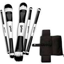 Nylea 5pcs Makeup Brushes Set - Professional Double Sided