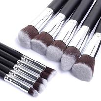 Taotaole 10 Pcs Pro Cosmetic Makeup Brushes Set Foundation