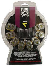 BSB Skate Wheel ABEC-9 Bearings - Set of 16