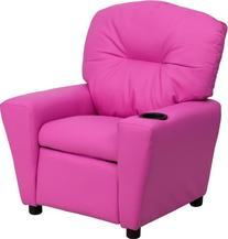 Flash Furniture BT-7950-KID-HOT-PINK-GG Contemporary Hot