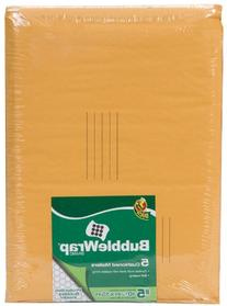 Duck Brand Kraft Bubble Mailers, #5 - 10.5 x 15 Inches, 5-