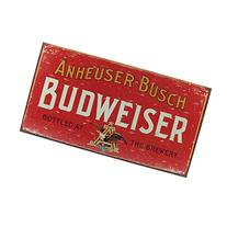 Budweiser Tin Sign 16 x 9in