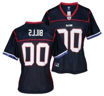Buffalo Bills NFL Womens Replica Team Jersey, Navy Blue &