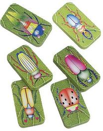 US Toy Assorted Insect Bug Design Clicker Noise Makers
