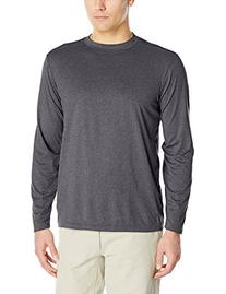 ExOfficio Men's BugsAway Impervio Long Sleeve Shirt, Cement