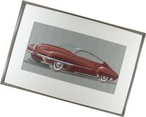 Buick Glass-Top Torpedo Concept Art