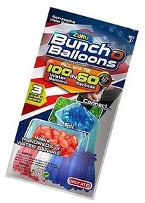 Bunch O Balloons, Red, White, and Blue