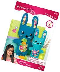 American Girl Crafts DIY Bunny Stuffed Animals Sew and Stuff