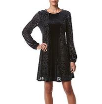 Taylor Dresses Burnout Velvet Dress