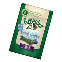 GREENIES Bursting Blueberry Dental Large Treats for Dogs -