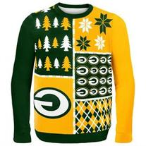 Green Bay Packers - Busy Block Ugly Christmas Sweater