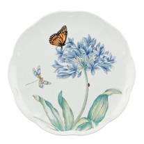 Lenox Butterfly Meadow Blue Accent Plate
