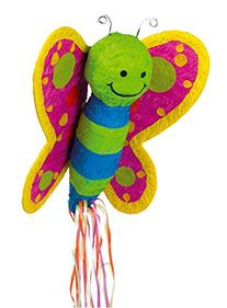 Ya Otta Pinata Butterfly Pull-String Pinata