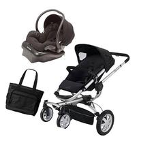 Quinny BUZZ4TRVSTM Buzz 4 Travel System in Black with a