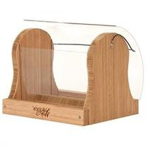 Natures Way BWF16 Bamboo Hopper Feeder With Suet Cages