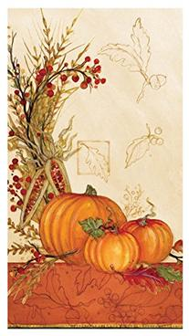 C.R. Gibson 16 Count Autumn Array Guest Towel or Dinner