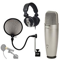 Samson C01U PRO USB Studio Condenser Microphone With CAD
