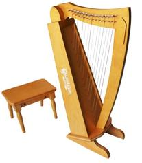 Schoenhut C1019C - 15 String Cherry Harp