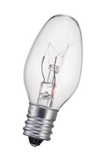 Philips 4w 120v C7 E12 Clear Night Light Incandescent Light