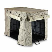 Snoozer Cabana Pet Crate Cover, Large, Amulet Shell