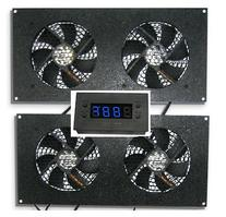 Cabcool 1202-2 Two-Dual 120mm Kits with One LED Thermal