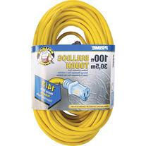 Prime Wire and Cable 100-Foot 14/3 Sjtow Bulldog Lighted