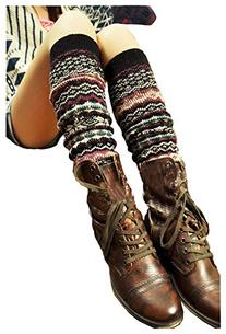 Springwell Women's Cable Knit Leg Warmers in Multiple Style