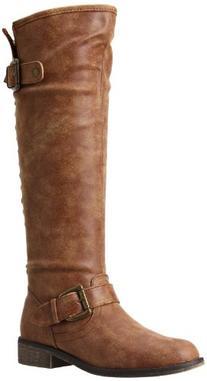 Madden Girl Women's Cactuss Boot,Cognac Paris,6 M US