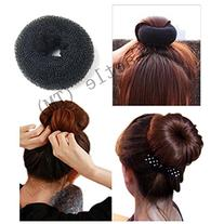 Caetle BLACK BUN HAIR FORMER DONUT DOUGHNUT SHAPER RING