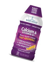 Calcium with Vitamin D3 Liquid