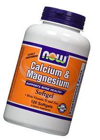 NOW Foods Calcium/Magnesium Plus Vitamin D and Zinc, 120