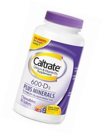Caltrate 600+D3 Plus Minerals Calcium & Vitamin D3