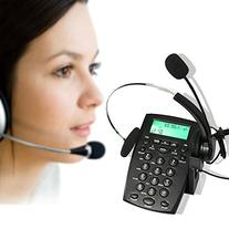 AGPtek Call Center Dialpad Headset Telephone with Tone Dial