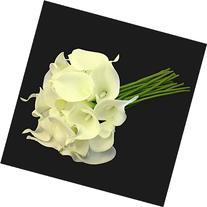 Calla Lily Bridal Wedding Party Decor Bouquet 20 heads Latex