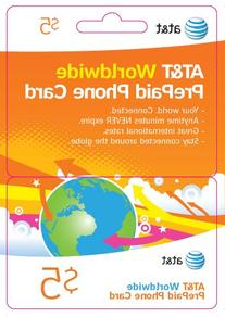 Calling Card Bundle 8 - 6cards $5 AT&T & 2cards $10 AT&T