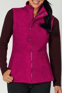 ExOfficio Women's Calluna Fleece Vest Dazzle, X-Small
