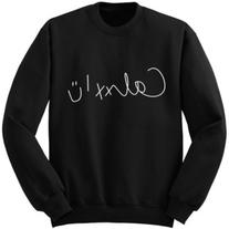 Calum Hood Signature Sweatshirt 5sos Shirt 5 Seconds of
