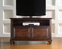 Crosley Furniture Cambridge 42-Inch TV Stand, Black