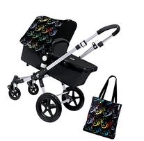 Bugaboo Cameleon3 Accessory Pack - Andy Warhol Marilyn/Black