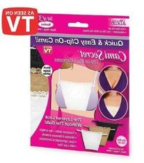 As Seen on TV Cami Secret Clip On Mock Camisoles
