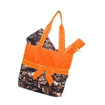 New Design Camo Quilted 3pcs Diaper Bag-orange