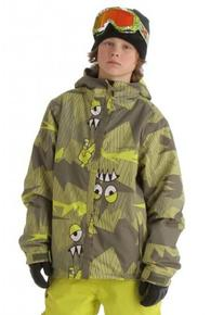 686 Camotooth Insulated Snowboard Jacket Army Camotooth XL -