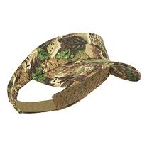 Camouflage Cotton Twill Visor - Loden Brown OSFM