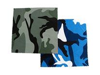 Camouflage Micro-Fiber Cleaning Cloth in Blue