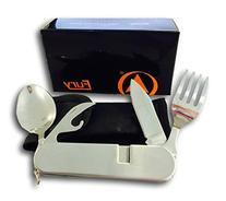 Fury Camping Utensils with Detachable Fork, Spoon and Knife