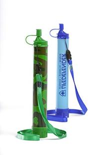 BEST Water Filter Straw for Camping, Hiking, Hunting - 50%